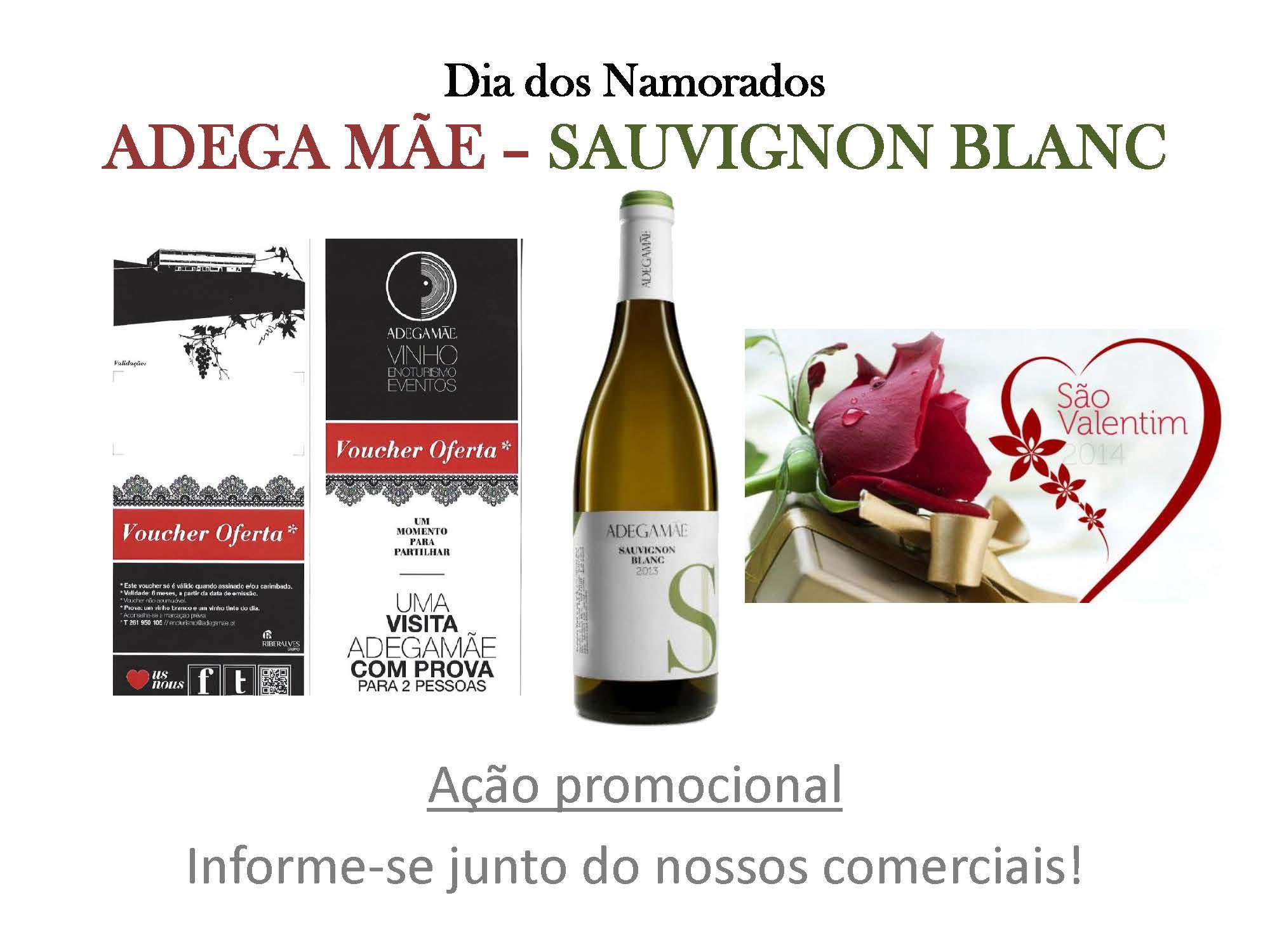 Dia dos Namorados 2016 - Adega Me Sauvignon Blanc